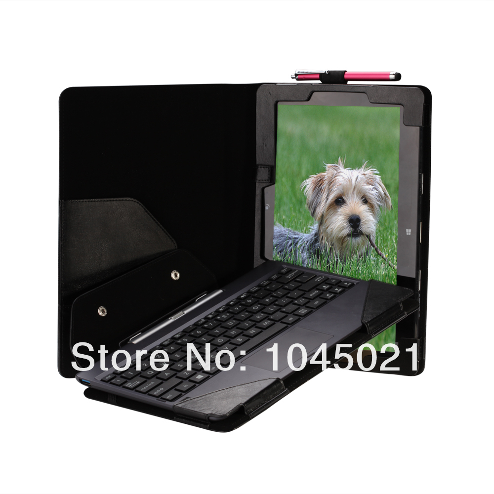 Factory price ! 2016 hot sale Detachable tablet Case keyboard Cover for Asus Transformer Book T100TA T100 with free shipping