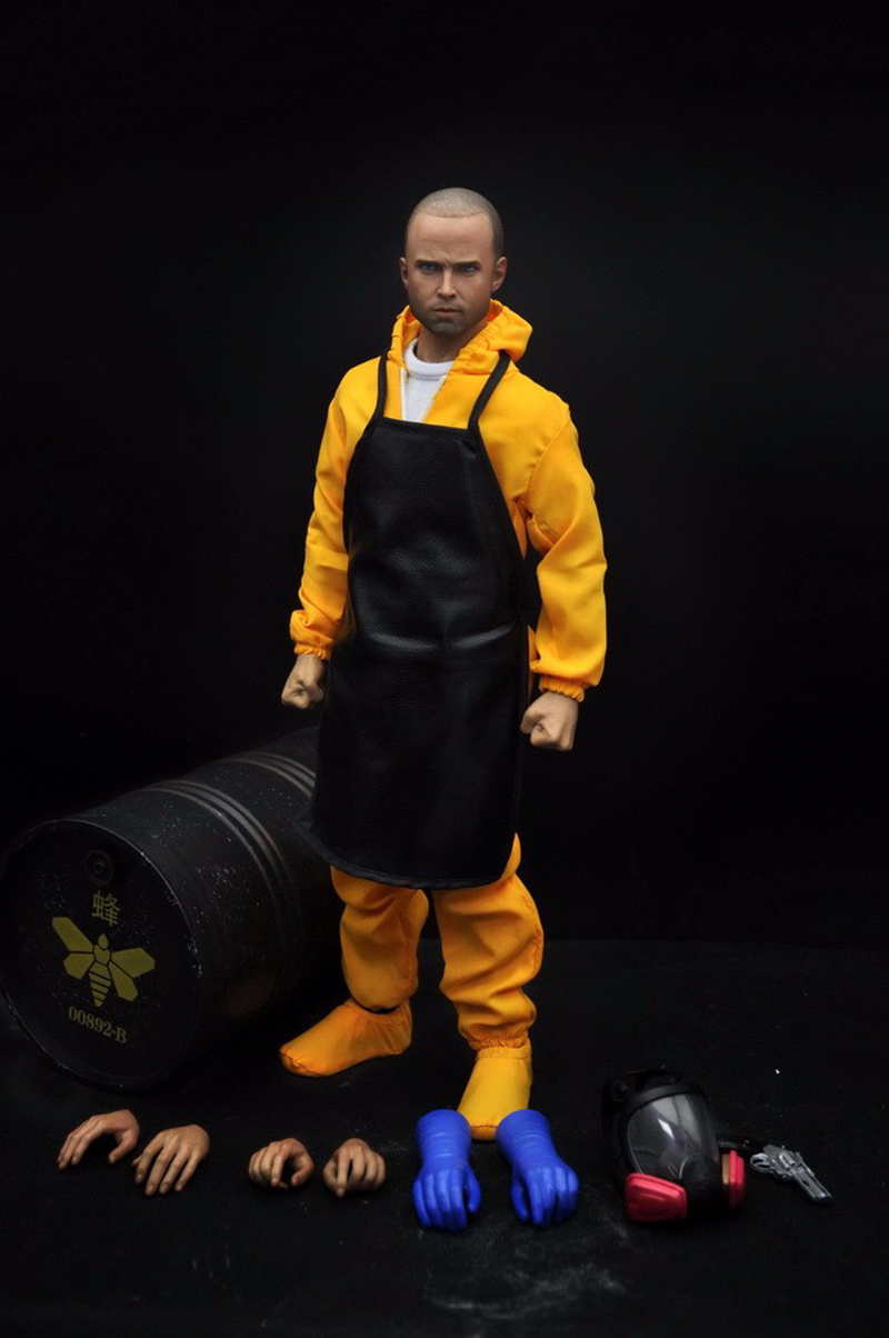 Limited Edition 1/6 Breaking Bad Jesse Pinkman Full Set Action Figures Gifts Collections new mf8 eitan s star icosaix radiolarian puzzle magic cube black and primary limited edition very challenging welcome to buy