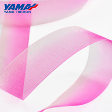 YAMA Polyester Ombre Organza Ribbon 9 13 16 19 22 25 38mm 200Yards/roll 3/8 - 1.5 inch Hand made Silk Ribbons