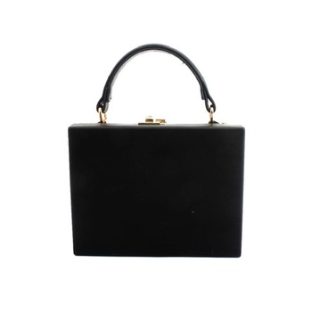 Fashion Box Shape PU Leather Shoulder Bag Casual Buckle Handbag Women Messenger Crossbody Bag For Ladies Tote Bag