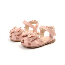 COZULMA Kids Fashion Cut-outs Sandals Shoes For Girls Princess Lace Bowtie Beach Sandals Children Baby Soft Sole Summer Shoes 3 colors 1 pair fashion girls children sandals princess shoes gladiator cut outs cool knee high boots cool girls footwear
