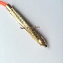 1 set Dental Lab Sandblasting Machine Blaster Brass Handle Pen Tungsten Steel Tip Tool