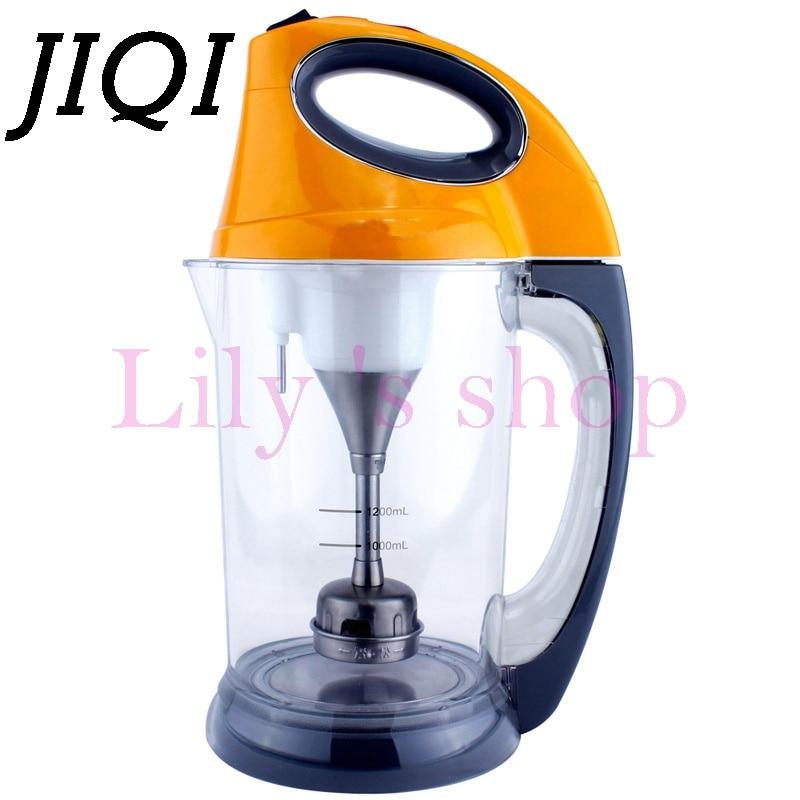 JIQI Soymilk machine multifunction automatic baby food blender Soyabean Milk Maker filter-free soy bean Milk machine juicer 1.2L цена и фото