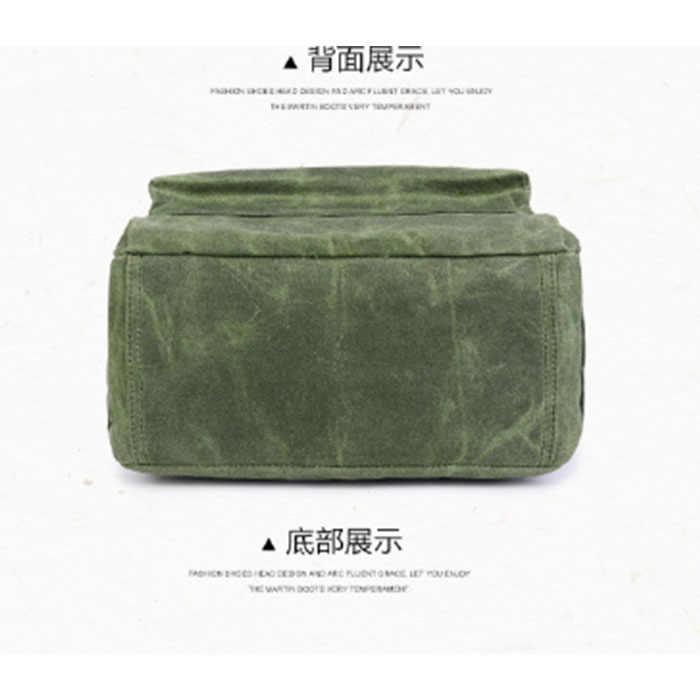 Для мужчин и женщин Рюкзак Школьная Сумка для подростков колледж водонепроницаемый холст путешествия ноутбук рюкзаки Bolsas Mochila зеленый/ArmyGreen