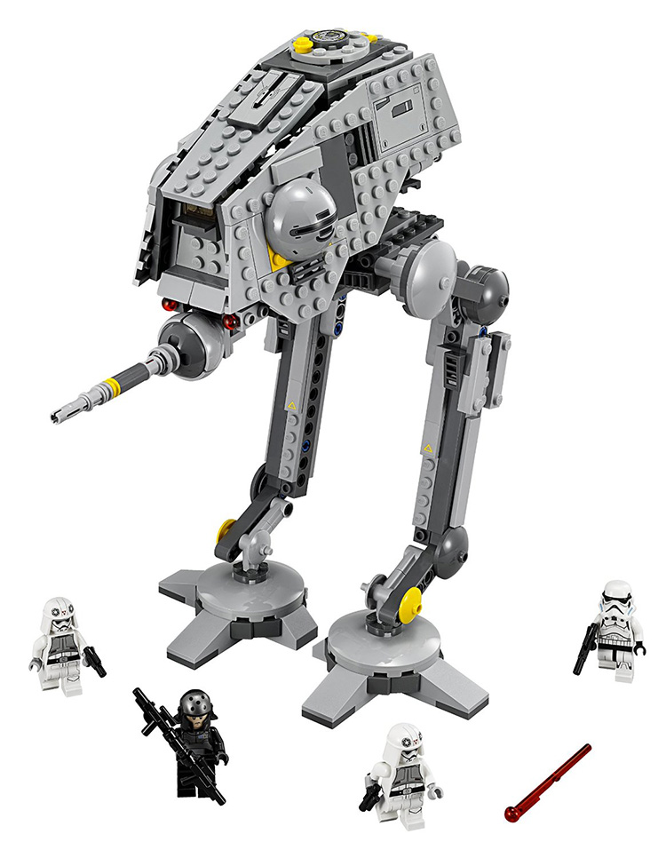 БЕЛА 10376 Звездные войны 7 AT-DP Войны Фигура игрушки строительные блоки set marvel совместимость с legoe