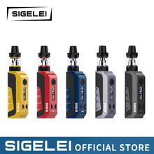 NEWEST Original Sigelei e electronic cigarette vape E1 Kit Poket vape kit mod with tank atomizer 10 - 80w vape mod and rda tank original sigelei snowwolf range e electronic cigarette kit xfeng mod kit