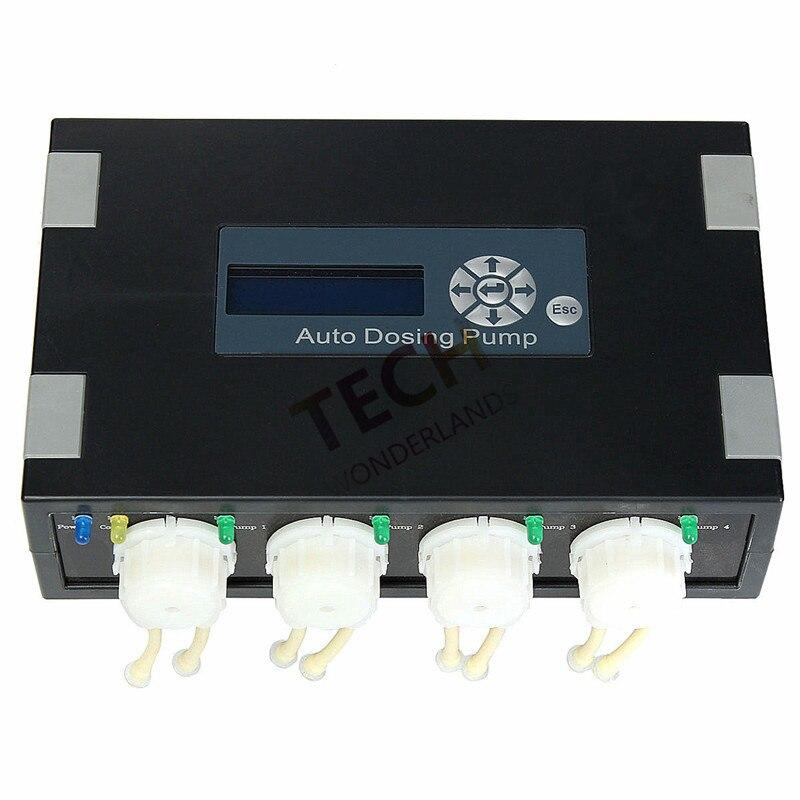 Лидер продаж Jebao DP-2 DP-3 DP-4 DP-5 DP-3S DP-4S автоматическое дозирование насос-Автоматический Дозатор для риф аквариум элементы морской рыбы майка