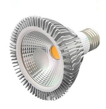 Free Shipping E27 par30 COB15W Dimmable warm white/pure white/cool white led Spotlight AC85-265V CE/ROHS