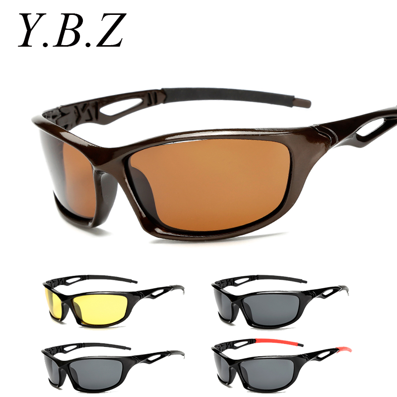 2017 polarized night vision glasses men top quality male for Fishing sunglasses brands