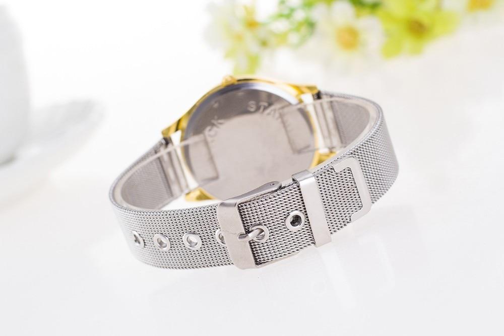 Merk vrouw Horloge montres Mode Quartz Horloge Nieuw binnen Casual - Dameshorloges - Foto 6