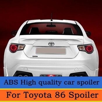 Pour GT 86 becquet 2012-2015 Subaru BRZ becquet ABS matériau d'amorce d'aile arrière de voiture couleur becquet arrière pour Toyota 86 becquet