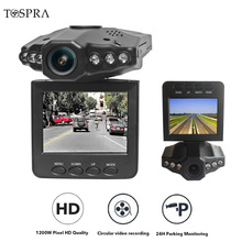 TOSPRA 2.5 Inch Car Camera Dash Cam Full HD 1080P Car Recorder Camera Dashboard Video Driving Recorder Registrars Car DVR Camera