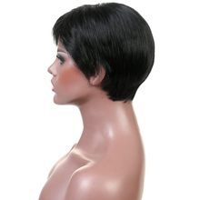 Women's Cabaret Short Black Wig