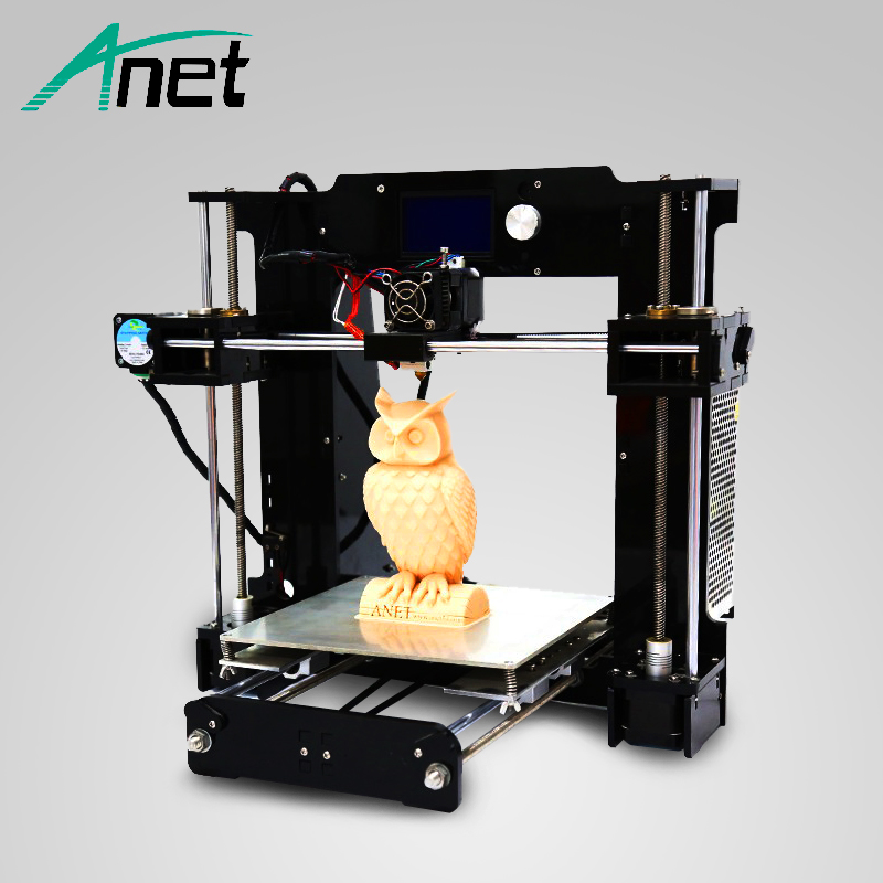 Anet A6 3D Imprimante Amélioré Haute Précision Haute Qualité Facile Assemblée Prusa i3 Reprap Livraison Filament Kit 16 gb SD carte LCD Écran