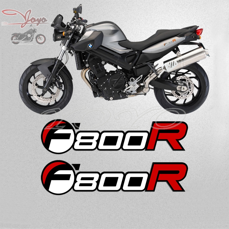 2 PCS Rear Fairing Panel Cover Decals Stickers Graphic For BMW F800R F 800 R