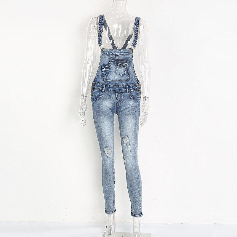Jumpsuit Mujer Push Up Jeans Womens Boyfriends For Women Woman Denim Pants Femme Feminino Female