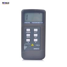גבוהה דיוק Lcd תצוגה דיגיטלי מדחום Pyrometer טמפרטורת מטר עם K סוג בדיקה מדידת טווח 50 1300 תואר