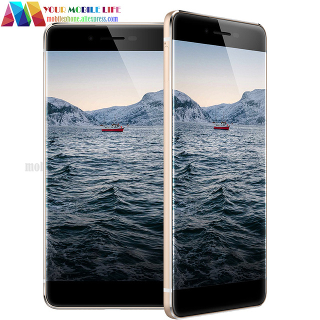 Bezel-less Fingerprint Original Ulefone Future 4G LTE 5.5'' MTK6755 Octa Core 4GB RAM 32GB ROM 16MP Android 6.0 Unlocked phone