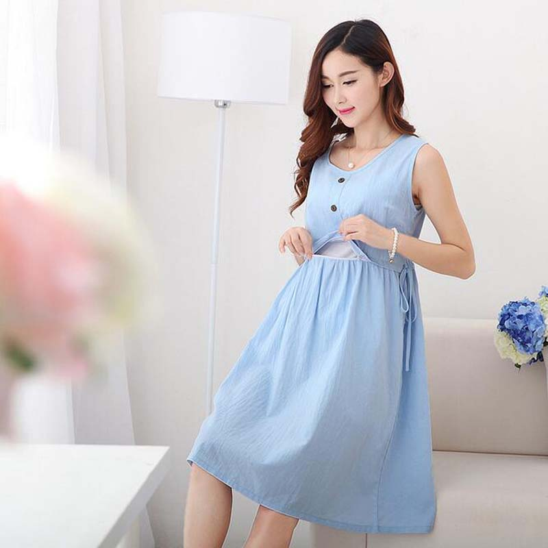 JMS Kasenbely Pregnant Dress Adjust Belt Nursing Dress Maternity Dresses Maternity Clothes Nursing Dresses Breastfeeding