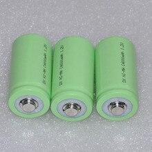 Célula para a para a Tocha e Brinquedos 30% Off 3 Pcs 1.2 V Recarregável Ni-mh Bateria Nimh 4000 Mah C R14 Tamanho Lr14 Tocha e Brinquedos Relógio