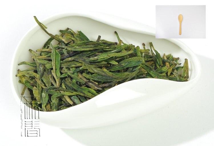 Tea Scoop gift Dragon Well Longjing Green Tea 250g Long Jing tea CLL01 Free Shipping