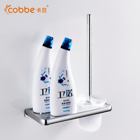Mirror Stainless Steel Brush For Toilet Cleaning Brush Bowl Set Bathroom Accessories Wall Mount Household Cleaning
