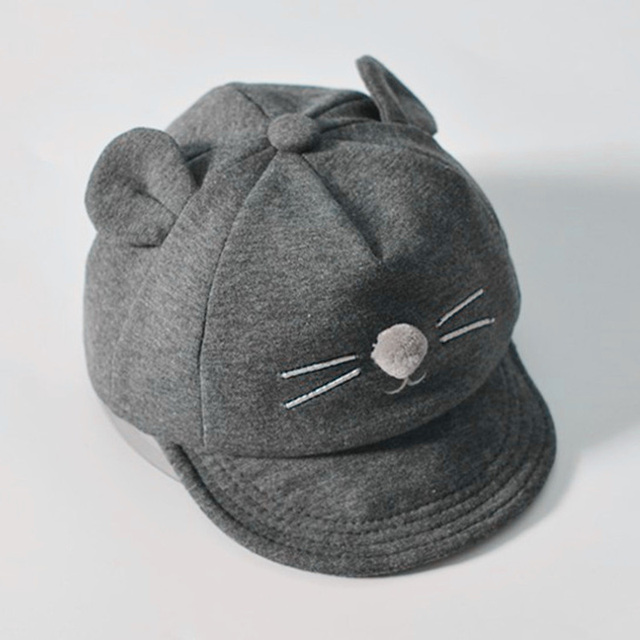 Baby's Hat with Cat's Ears