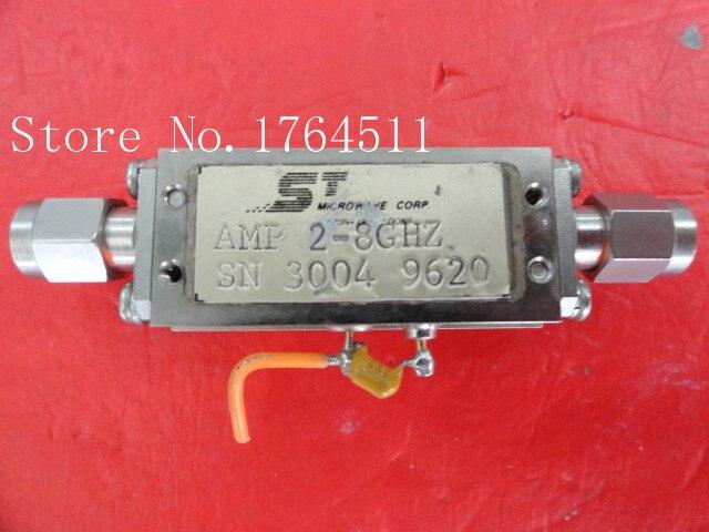 [BELLA] ST OLEKTRON 3004-9620 2-8GHZ Vin:15V Supply Amplifier SMA