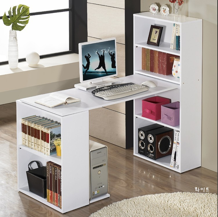 Cheap simple and modern double bed notebook computer desk desktop office computer desk corner ...