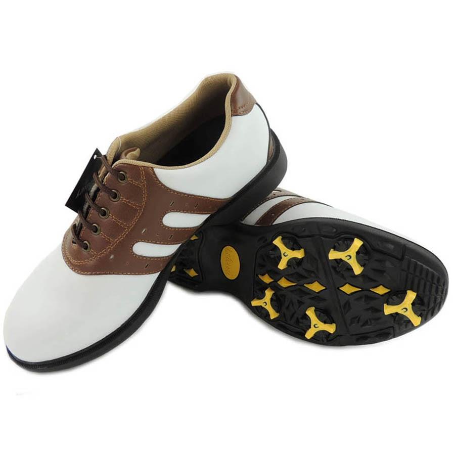 Mäns golfskor Läder Golfskor för män glidande sportskor NO: k14