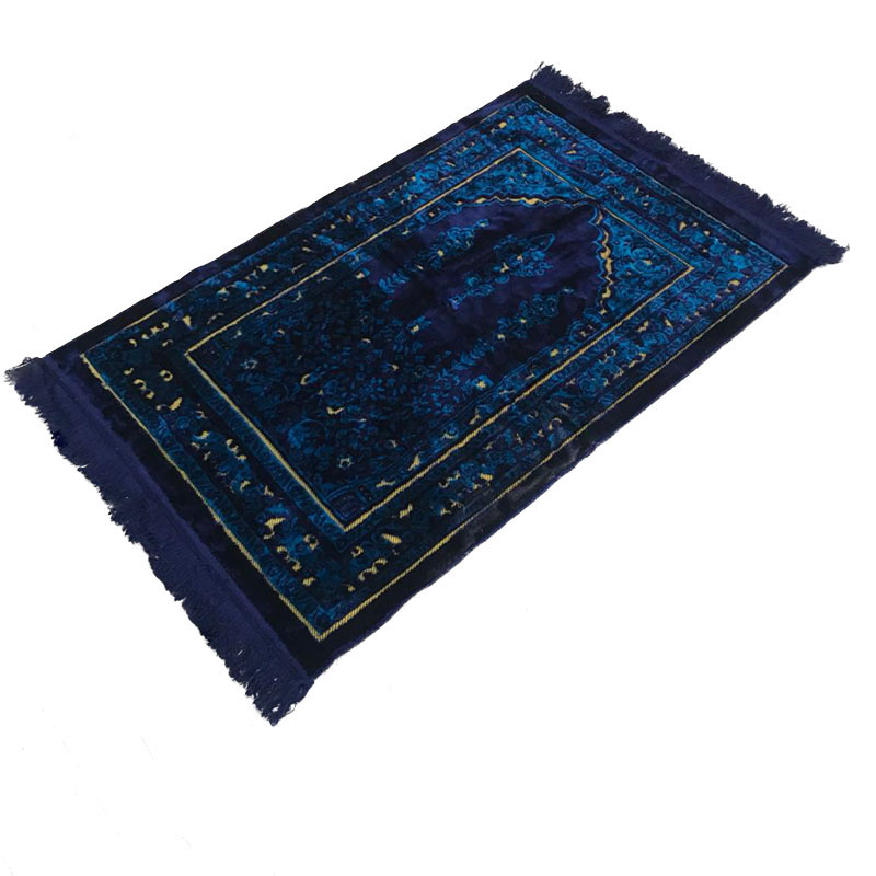 Engagement & Wedding Lovely Muslim Prayer Rug Polyester Portable Braided Mats Simply Print With Compass In Pouch Travel Home New Style Mat Blanket 100*60cm Exquisite Traditional Embroidery Art
