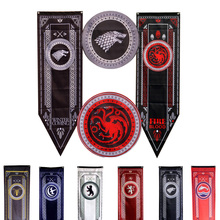 Game Of Thrones Banner Home Decor flag Targaryen Stark Lannister Baratheon Bolton Nights Watch room hanging flags freeshipping