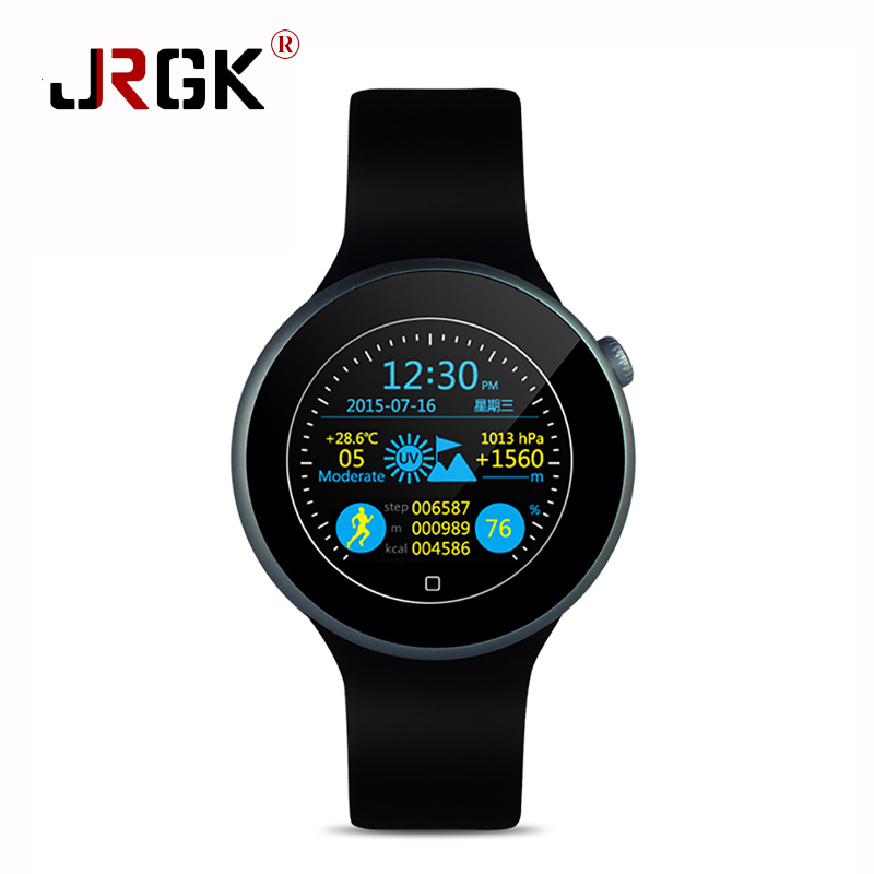 ФОТО JRGK C1 Bluetooth Smart Watch Gesture Control Smart Watches IP67 Waterproof Heart Rate Monitor For iOS Apple Android Motolora