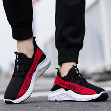 running Shoes Men Breathable Autumn Summer Mesh Lovers Shoes Brand Femme Chaussure Ultras Boosts Superstar Sneakers vapormax(China)