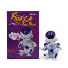 Anime Dragon Ball Z GK Frieza Fina From PVC Action Figure Freeza Doll Collectible Model Toy Christmas Gift For Children [funny] original box 28cm game over watch azrael black death reaper ripper action figure collectible model doll toy kids gift