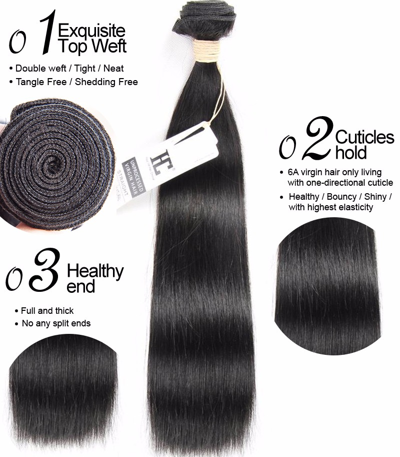 Brazilian Deep Wave With Closure 3 Bundles Deep Curly With Closure Queen Hair Products 8A Brazilian Virgin Hair With Closure HC hair products