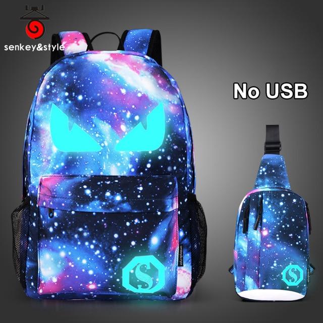Raged Sheep Boys School Backpacks Middle school Bags Teenagers USB Luminous Anti-theft Backpacks Men Bags student back to school 1