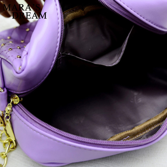 Mara's Dream Small Women Bag Fashion Handbag With Crown Mini Rivet Shoulder Bag Women Messenger Bag 2019 Hot Sale 5