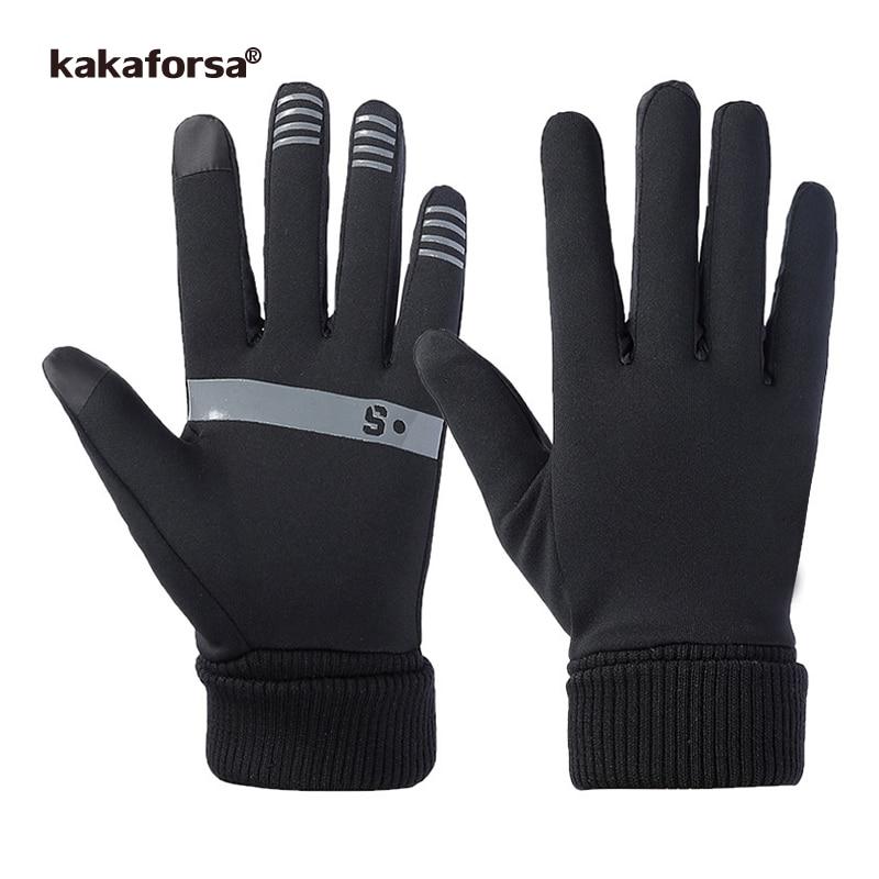دستکش ورزشی Kakaforsa 2019 دستکش ورزشی در حال اجرا دستکش مردانه در فضای باز دستکش مخصوص بدنسازی چند منظوره ضد آب دستکش مخصوص دویدن