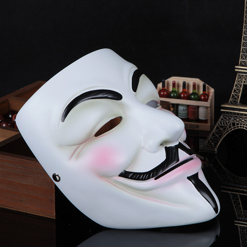 halloween mask v for vendetta extremely funny jokes realistic silicone masquerade scary guy fawkes masks mardi gras cosplay part in party masks from home