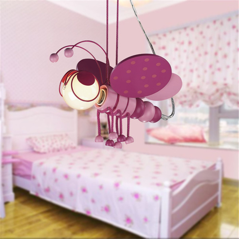 New Brand Kids Room Bees Pendant Light Animals Style Pendant Light ...