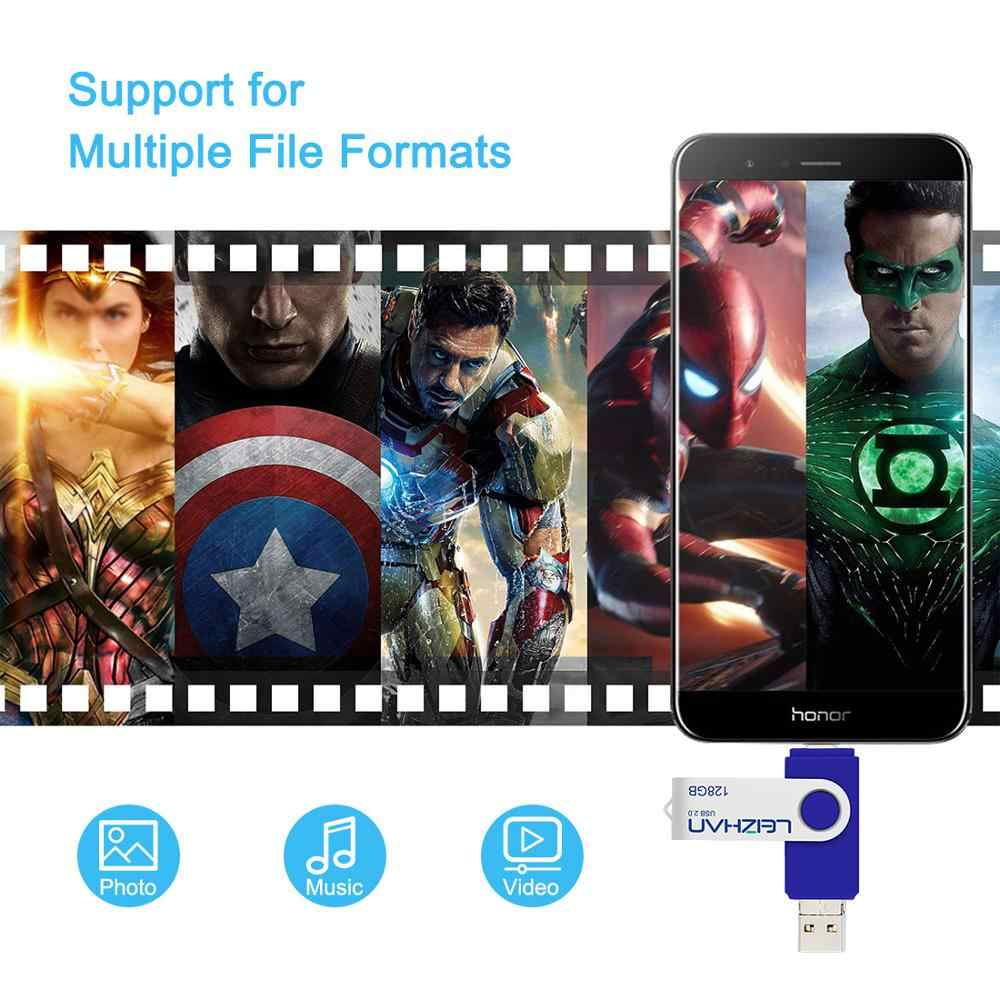 Usb stick android tipo-c USB flash dirve otg Pendrive usb C photo stick de memoria micro Dispositivo de almacenamiento de 128gb 64gb 32gb 16gb 8gb 4g
