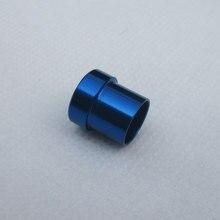 6AN-AN6 жесткий линии Фитинги AN6 3/8 ''Tube рукава Синий