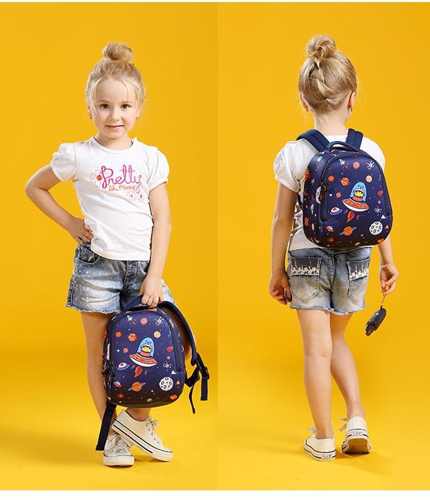 cfc7de987262 2018 Cartoon Design Children Girls 3D Cute School Bag Kindergarten ...