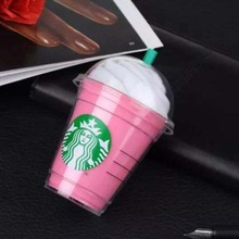 Starbuck Power Pank 5200MAh starbuck coffee cup universal external Portable backup Battery Charger with Package