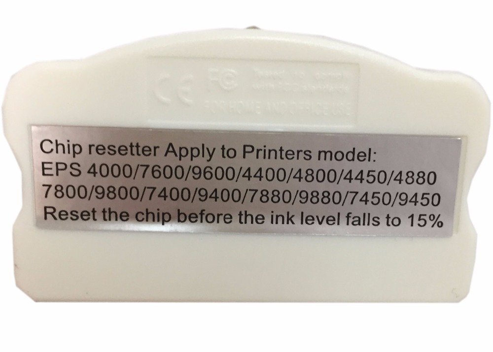 Resetter Chip do cartucho para epson 4000 7600 9600 4400 4800 4880 7800 9800 7400 7880 9880 7450 9450 4450 Printer