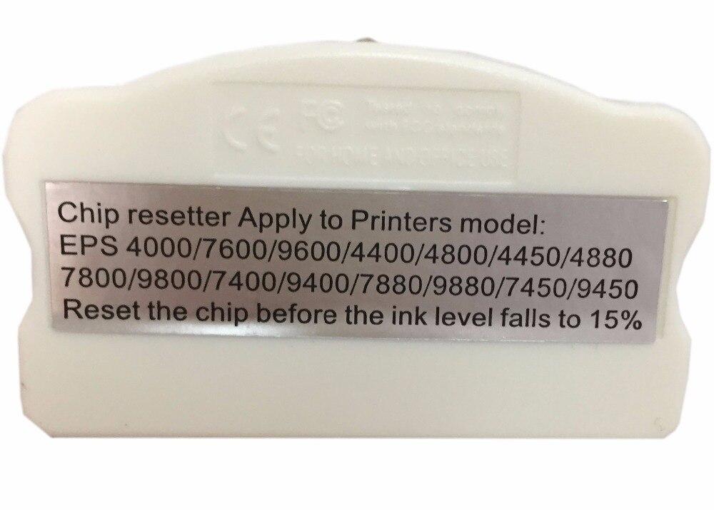 Resetter Chip Do Cartucho para epson 4000 7600 9600 einkshop 4400 4800 4880 7800 9800 7400 7880 9880 7450 9450 4450 Printer