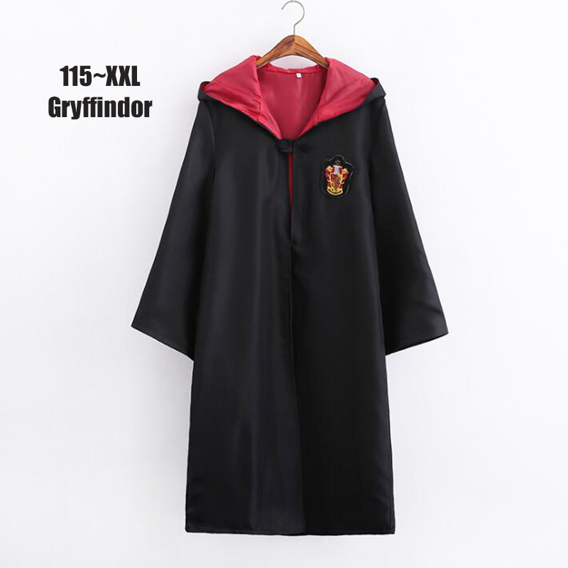 Multiple Sizes Action Figure For Kids Cloak Gryffindor Magic School Cosplay Costumes