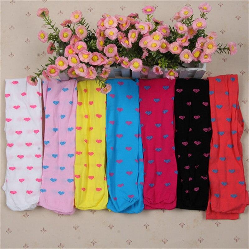 Girls Tights Lovely Opaque Velvet Stockings For Kids Girl Print Tight 1 Pcs