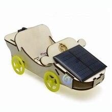 Solar Electric Double Power Vehicle Scientific Experiment Manual Lesson Courseware Photoelectric Hybrid Model Toys